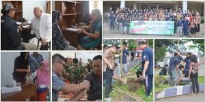 Pengobatan dan Tanam Pohon 2019